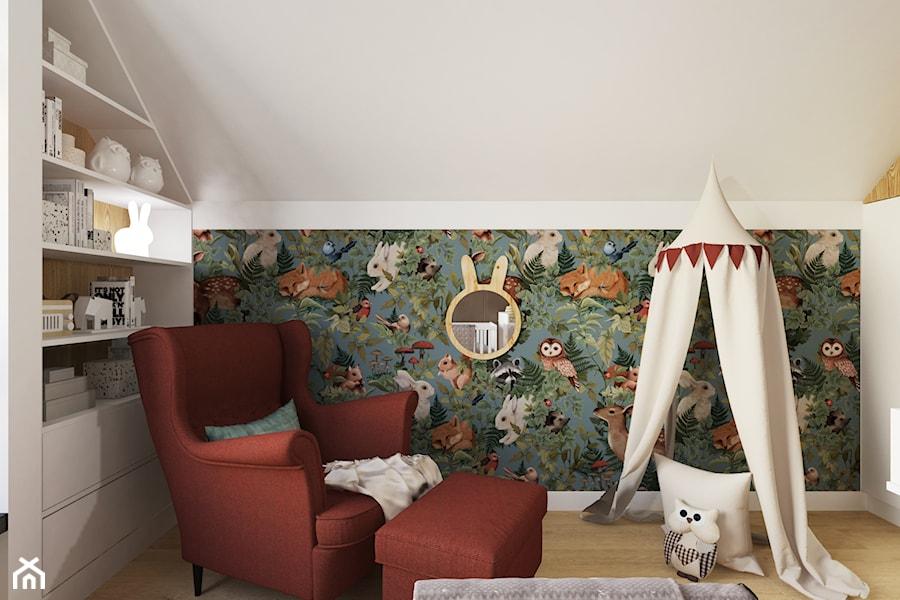 Projekt domu jednorodzinnego w Krakowie - Pokój dziecka, styl vintage - zdjęcie od Architekt Wnętrz Patrycja Wojtaś
