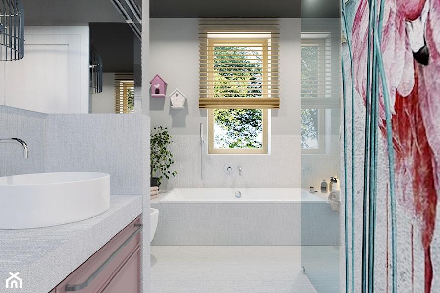 Projekt łazienki dla dzieci - zdjęcie od Architekt Wnętrz Patrycja Wojtaś
