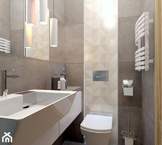 Projekt Małej łazienki W Bielsku Białej Zdjęcie Od