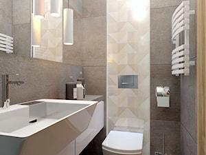 Mała łazienka w Bielsku-Białej