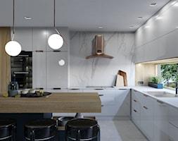 Projekt wnętrz domu jednorodzinnego wdł. projektu Parterowy 2 - Kuchnia, styl nowojorski - zdjęcie od Architekt Wnętrz Patrycja Wojtaś - Homebook