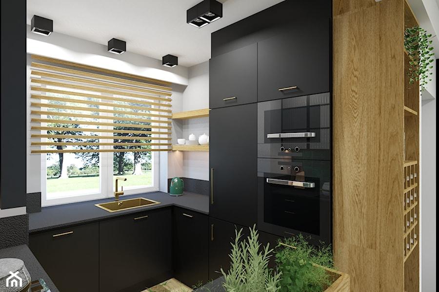 Dom w Kozach - Kuchnia, styl nowoczesny - zdjęcie od Architekt Wnętrz Patrycja Wojtaś