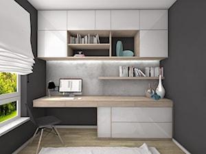 Pokój gościnny / biuro - zdjęcie od Ewelina Loręcka - projektowanie wnętrz