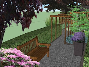 projekt ogrodu na trzystu metrach