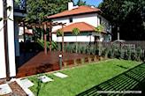 ogród przy bliżniaku - zdjęcie od OGRODOWA AURA - Homebook