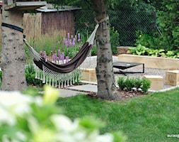 OGNISKO W OGRODZIE - Ogród, styl nowoczesny - zdjęcie od OGRODOWA AURA - Homebook