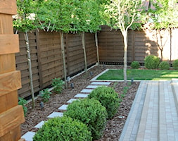 OGRODOWY SALON - Średni ogród za domem, styl nowoczesny - zdjęcie od OGRODOWA AURA - Homebook