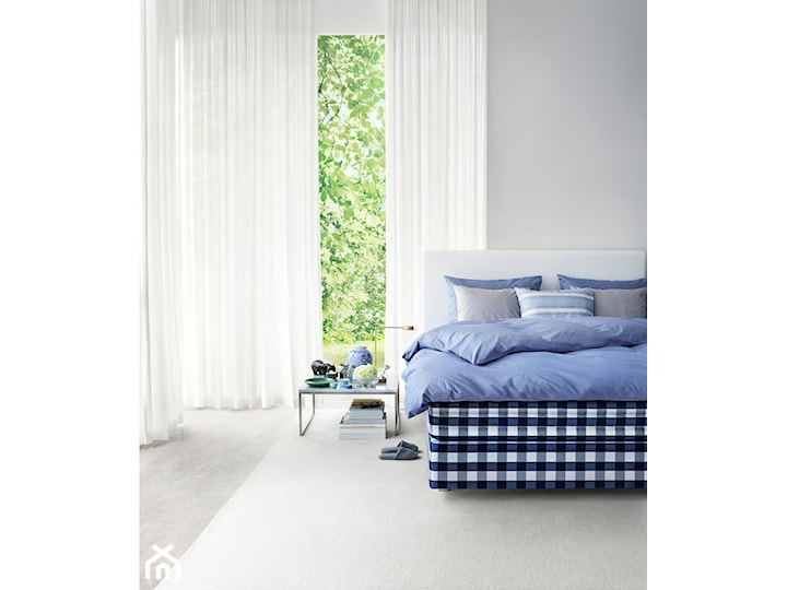 HÄSTENS PROFERIA łóżko kontynentalne, łóżko tapicerowane, łóżko hotelowe