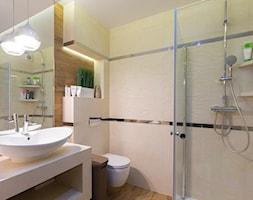 Mieszkanie Siedlce - Duża łazienka na poddaszu w bloku w domu jednorodzinnym, styl nowoczesny - zdjęcie od zaneta-jastrzebska