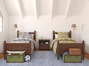 Pokój bliźniaków - zdjęcie od Grupa EMDEO Projekty