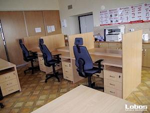 Realizacja biura dla MOPS - Lobos Meble Biurowe
