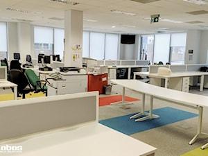 Realizacja biura jednego z klientów w Warszawie - Lobos Meble Biurowe