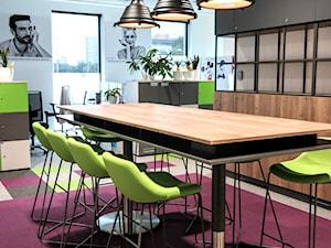 Realizacja biura dla jednej z firm w Krakowie - Lobos Meble Biurowe
