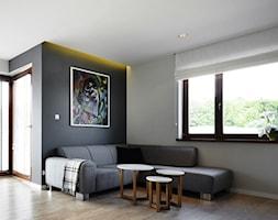 Salon - zdjęcie od Pracownia Wnętrza - przestrzeń szyta na miarę