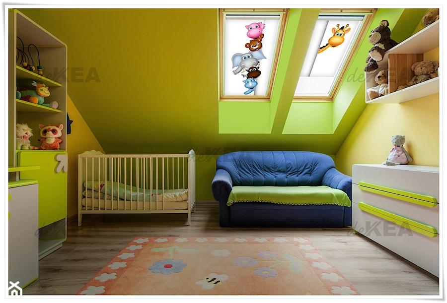 Aranżacje wnętrz - Pokój dziecka: Rolety dachowe deKEA do pokoju dziecięcego - deKEA Polska. Przeglądaj, dodawaj i zapisuj najlepsze zdjęcia, pomysły i inspiracje designerskie. W bazie mamy już prawie milion fotografii!