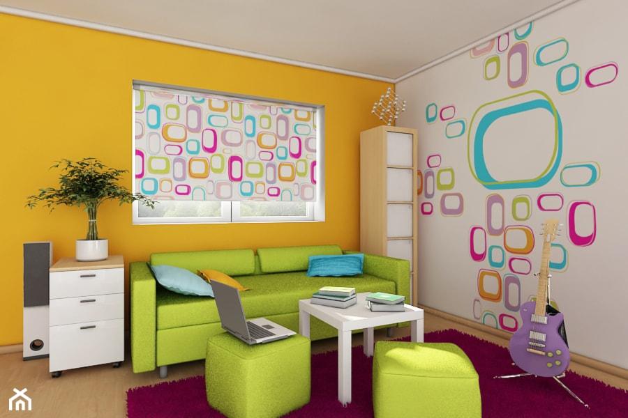 Roleta graficzna + tapeta graficzna (fototapeta) - zdjęcie od deKEA Polska