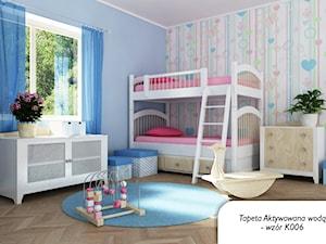 pastele w pokoju dziecka- tapeta graficzna deKEA - zdjęcie od deKEA Polska