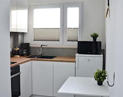 Apartament - Malbork Stare Miasto - 43m2 - 2020 - Kuchnia, styl skandynawski - zdjęcie od Studio86 - Homebook