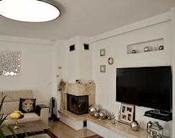 Home Staging - Gdańsk - parter domu - 50m2 - 2020 - Salon, styl glamour - zdjęcie od Studio86 - Homebook