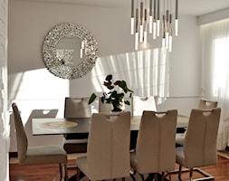 Home Staging - Gdańsk - parter domu - 50m2 - 2020 - Jadalnia, styl glamour - zdjęcie od Studio86 - Homebook