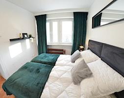 Apartament - Malbork Stare Miasto - 43m2 - 2020 - Sypialnia, styl eklektyczny - zdjęcie od Studio86 - Homebook