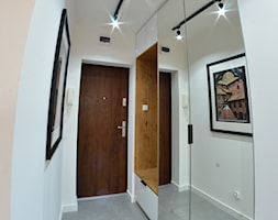 Apartament - Malbork Stare Miasto - 43m2 - 2020 - Hol / przedpokój, styl nowoczesny - zdjęcie od Studio86 - Homebook