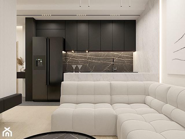 Minimalistyczne mieszkanie w ciepłych barwach