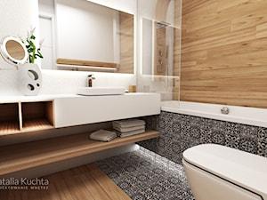 Łazienka z płytkami marokańskimi - zdjęcie od Natalia Kuchta