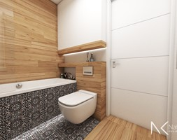 łazienka Z Płytkami Imitującymi Drewno Aranżacje Pomysły