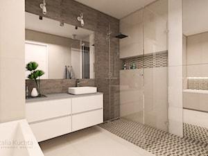 Łazienka w ciepłej tonacji - zdjęcie od Natalia Kuchta