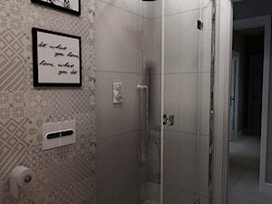 METAMORFOZA MIESZKANIA - NOWA SÓL - Mała łazienka w bloku bez okna, styl rustykalny - zdjęcie od KADA WNĘTRZA S.C