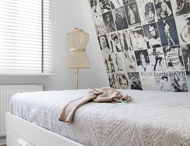 Schlafzimmergestaltung Mit Lila Und Weiss