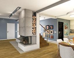 Hall+%2B+Kuchnia+%2B+Salon+-+zdj%C4%99cie+od+Atelier+Studio+No.1