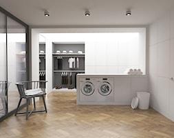 Miele - Duża zamknięta garderoba, styl minimalistyczny - zdjęcie od pawelpersona
