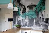 fototapeta na ścianie w kuchni
