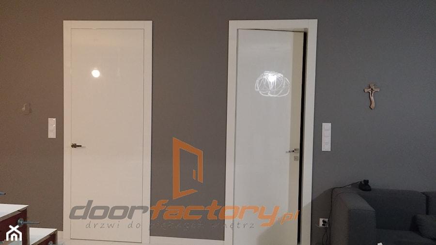 Drzwi wewnętrzne na wysoki połysk