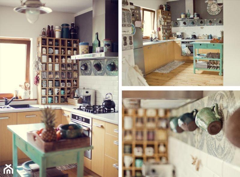 Kuchnia, styl skandynawski  zdjęcie od Roma Świątek -> Drewniana Kuchnia Roma