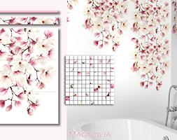 Magnolia - elementy dekoracji - zdjęcie od Ceramika Creative - Homebook