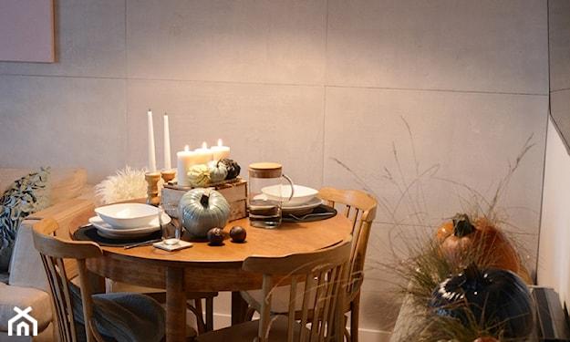 jak ozdobić stół na jesień