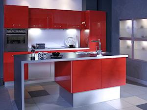 Kuchnia OLIMPIA - czerwony połysk