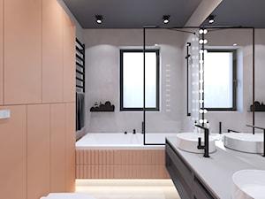 Łazienka w kolorze