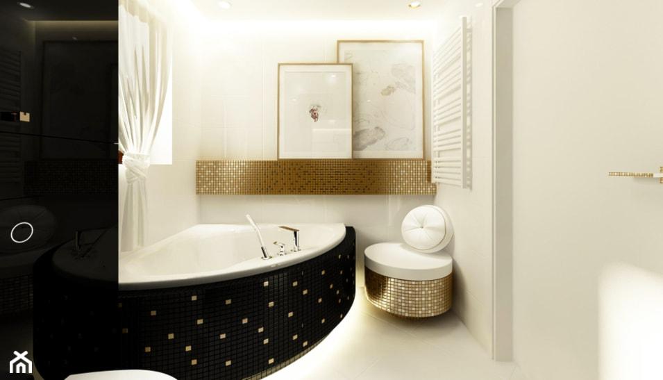 Jak urządzić małą łazienkę z wanną narożną - 4 pomysły - Homebook.pl