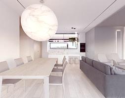 Salon+z+kuchni%C4%85+i+jadalni%C4%85+-+zdj%C4%99cie+od+Pracownia+projektowania+wn%C4%99rz+Loci