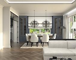 Dom w Michałowicach styl amerykański - Jadalnia, styl klasyczny - zdjęcie od 3deko - Homebook