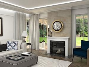 Dom w Michałowicach styl amerykański