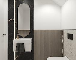 łazienka pod skosem - zdjęcie od 3deko - Homebook