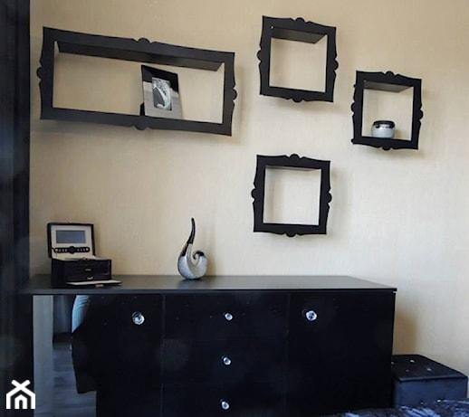 D Interiors Mała Sypialnia: Beżowa Sypialnia, Styl Glamour
