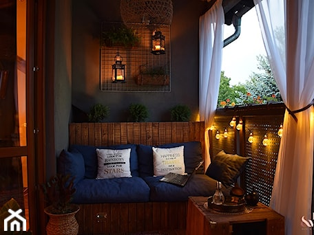 Balkon nocą - zdjęcie od PatMat - DIY&Wnętrza