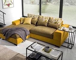 Komfortowy salon z narożnikiem Sofami #290 - zdjęcie od Sofami.pl - Homebook