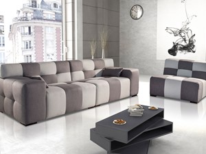Elegancki salon w stylu włoskim